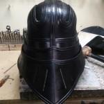 Medieval Vader Helmet Back